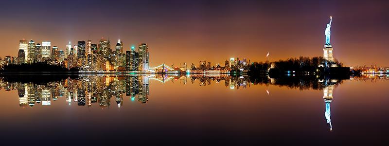 منظره شهر