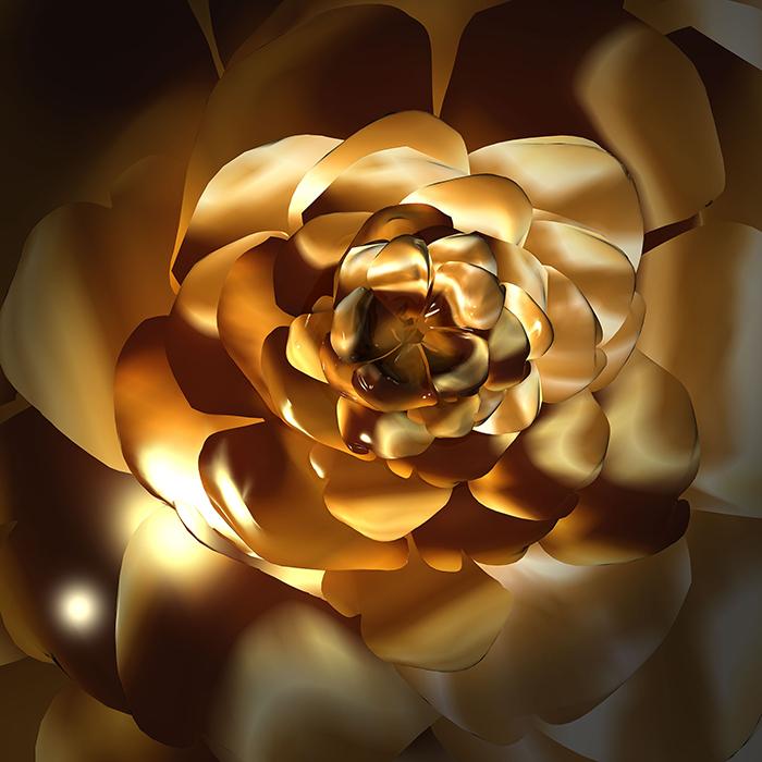 گل طلایی