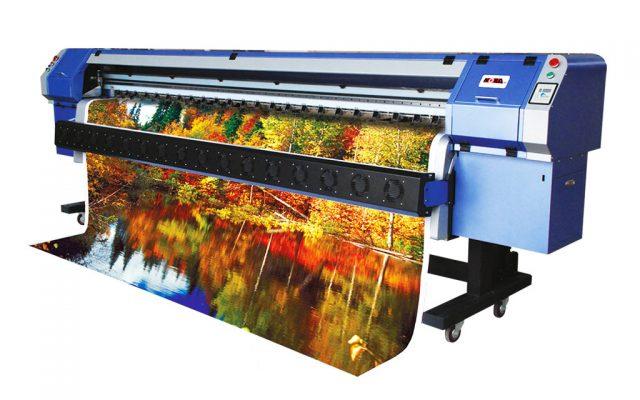 چاپ بنر با دستگاه