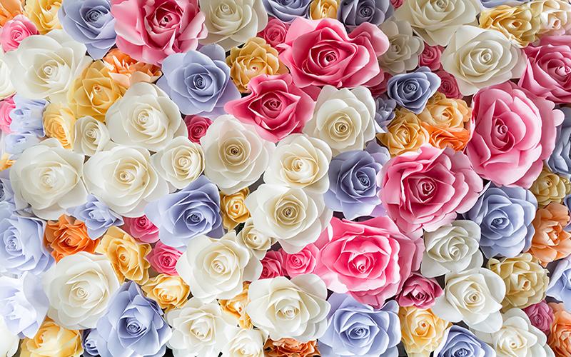 گل رنگی رنگی