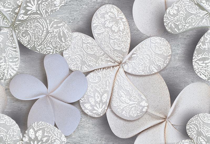 گل سفید