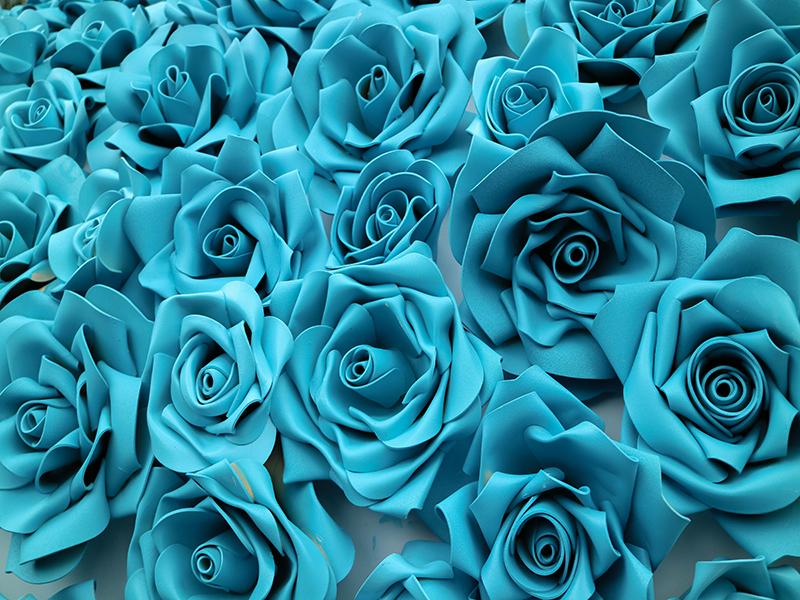گل آبی