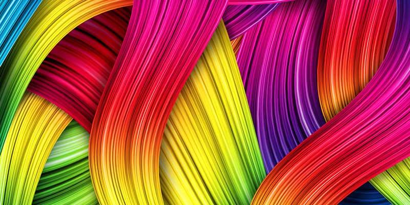تاثیر رنگ ها در طراحی بنر