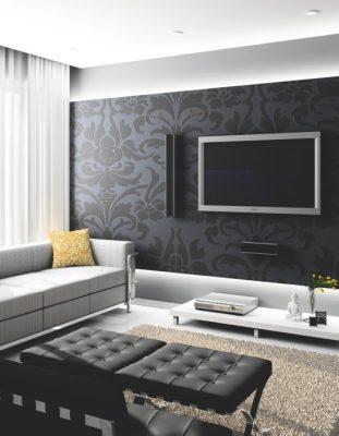 دکوراسیون دیوار پشت تلویزیون