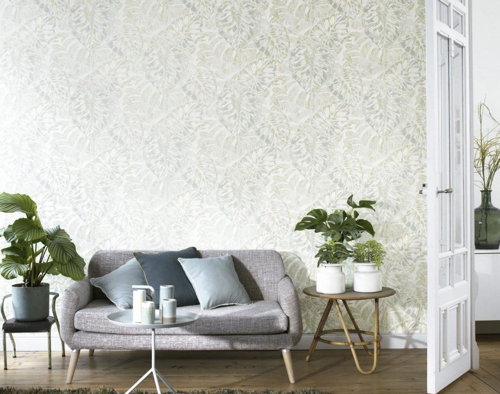 کاغذ دیواری برای بزرگ نشان دادن خانه